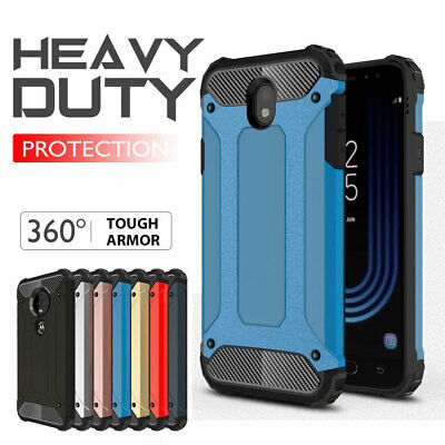Samsung Galaxy J2 J5 J7 Pro J8 A8 Plus Case, Rugged Heavy Duty Case Cover