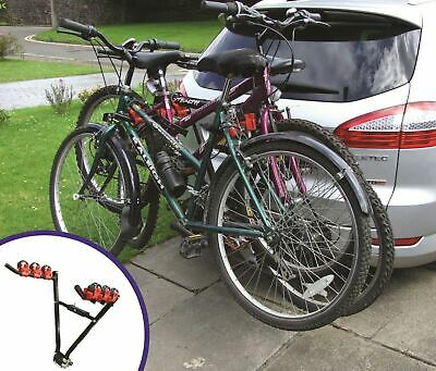 Double Bike Boot Rack 2 Bicycle Cycle For Ford Focus 5DR Hatchback 1998-2004