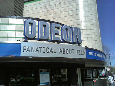 1x Standard Odeon Cinema Ticket