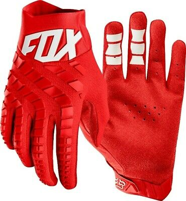 Fox 360 Motocross Offroad MX Enduro Race Gloves Red Adults