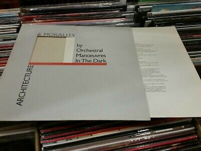 ORCHESTRAL MANOEUVRES IN THE DARK (OMD) Architecture & Morality LP  Vinyl 1981
