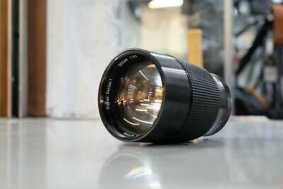Vivitar Series 1 Auto Telephoto 200mm F3 Lens in M42 Mount