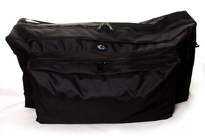 Pram Travel Bag suitable for Baby Jogger City Mini Double size pram.  Made in UK