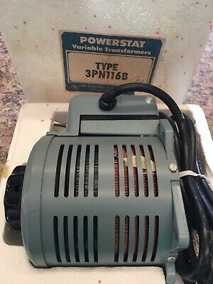 Superior Powerstat Variac Variable Transformer 0-140 volt 10 amp  Tested,NOS