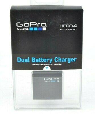 GoPro Dual Battery Charger for HERO4 Camera New #MAP-AHBBP401