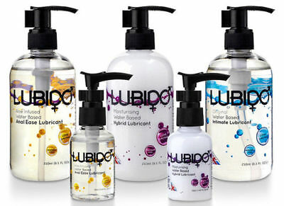 Water based Lubricant - 7.5, 50, 100, 250ml / Water based / Hybrid / Anal Lube