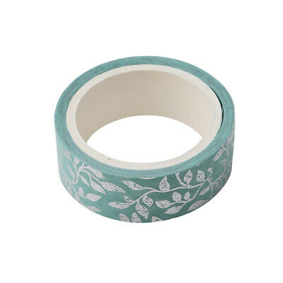 Foil Masking Tape Chinese Pattern Washi Tape DIY Craft Glitter Paper Sticky W
