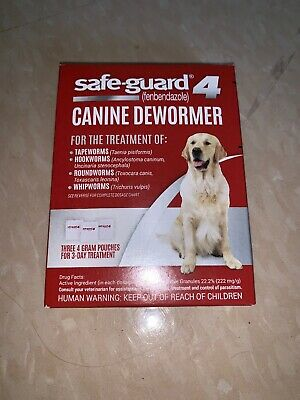 Safe-Guard 4 Canine Dewormer - 12 Grams Total