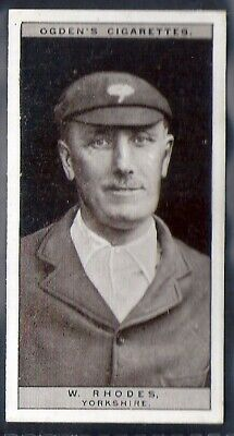 Ogdens-Cricket 1926-#38- Yorkshire - Rhodes