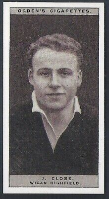 Ogdens-Famous Rugby Players-#32- Wigan Highfield - Close
