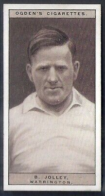 Ogdens-Famous Rugby Players-#36- Warrington - Jolley