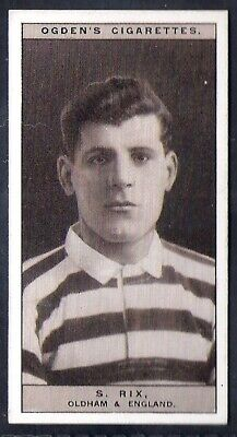 Ogdens-Famous Rugby Players-#45- Oldham - Rix