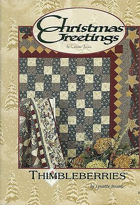 Christmas Greetings by Lynette Jensen Thimbleberries Quilt Book