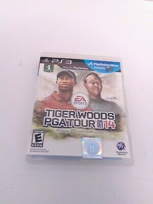 Tiger Woods PGA Tour 14 (Sony PlayStation 3, 2013) Complete Tested & Fast Ship