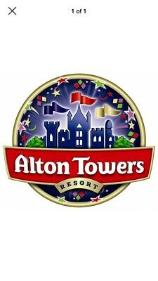 ALTON TOWERS TICKETS - Tuesday 3rd September 2019 Upto 8 Available