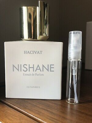 Nishane Hacivat Extrait de Parfum - 5 ml Glass Decant Atomizer
