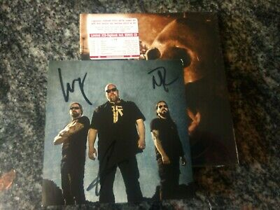 RAGE SEASONS OF THE BLACK LTD 2CD DIGIBOOK  SIGNED PHOTO CARD SEALED Autographed