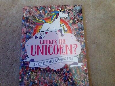 Where's the Unicorn? A Magical Search-and-Find Book for Kids