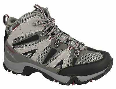 Mens Ankle Hiker Boots Hi Tec Waterproof Lace Up Walking Trail Shoes Size