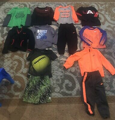 Boys 2T 24 Months Under Armour Nike Clothing Lot EUC Toddler Clothes