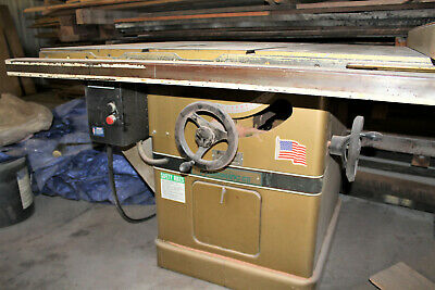 Powermatic Industrial Table Saw, 14-Inch, 7 HP, Model 72A