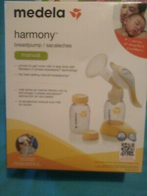 NEW Medela Harmony Manual Breast Pump STERILE Free Lanolin /& quick steam bag