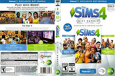 The Sims 4 Exclusive Gift Bundle | Base Game, Dine Out, Movie Hangout