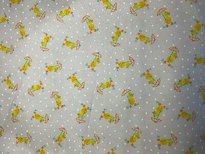 £10.95pm Bambi Print Cotton Fabric for Dressmaking /& Quilting 11 Designs