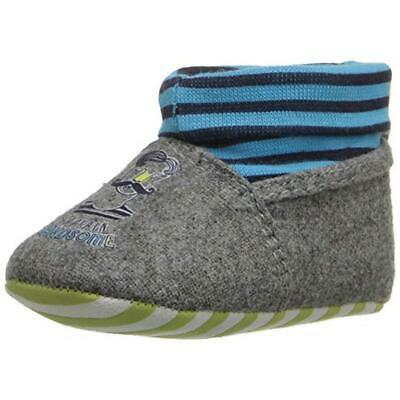 Rosie Pope Kids Footwear Handsome Sailor Gray Infant Crib Shoes 6-9 MO BHFO 2808