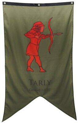 """Calhoun Game of Thrones House Sigil Wall Banner (30"""" by 50"""") (House Tarly)"""