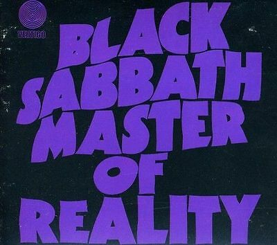 Black Sabbath Master of Reality Deluxe Edition Remastered 2 CD Digipak NEW