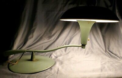 Vintage 60s mid century UFO table lamp
