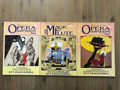 P Craig Russell Opera Graphic Novels - 3 Books in Excellent Conditions