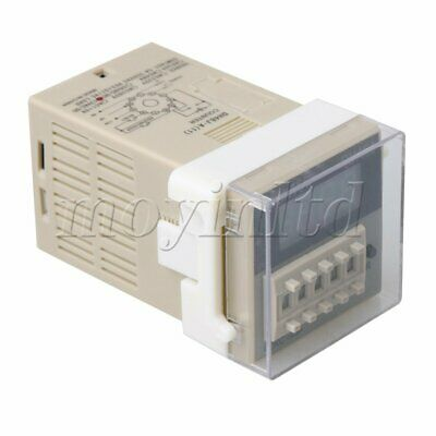 DH48J AC//DC 12V 50//60Hz Count Up 8 Pins 1-999900 Digital Counter Relay