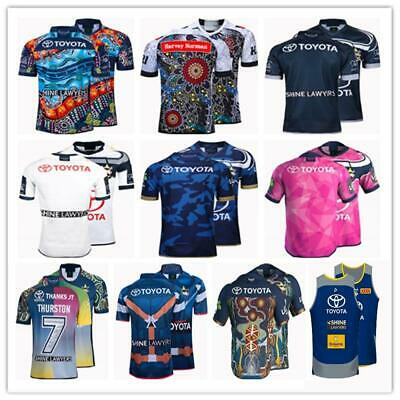 NRL Cowboys Quick Dry Rugby Replica Jersey