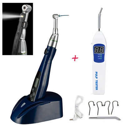LED Endo Motor Endodontics​ Treatment Contra Angle Handpiece Teeth Pulp tester A