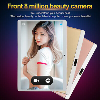 """10.1"""" 6+64G HD Game Tablet Computer PC Ten Core Android 8.0 GPS Wifi Dual Camera"""