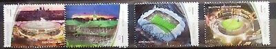 Australia 2019 Sporting stadiums set 4 Sheet stamps complete fine/good used