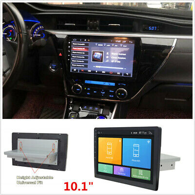 "10.1""Android 8.1 Single Din Stereo Radio Player Wifi 3G 4G BT Car GPS Navigation"