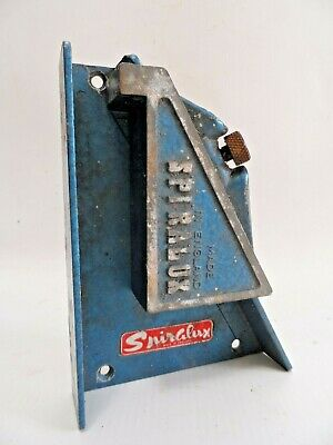 Vintage Spiralux bench clamp - made in Engand