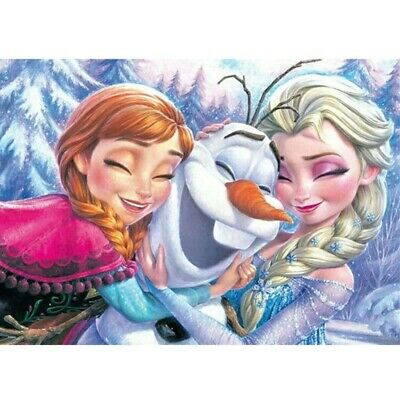 5D Frozen Sisters Full Drill Diamond Painting Embroidery Cross Stitch Kits Arts