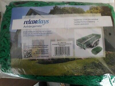 Relaxdays Trailer Net 3 Metre X 2 Metre(3.8 X 4.2 M Expanded Climbing Frame Etc