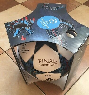 Adidas UEFA Champions League Finale Cardiff 2017 Official Match Ball OMB  Size 5