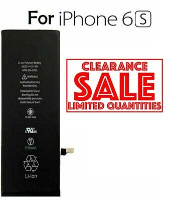 NEW Battery For iPhone 6s with Free Replacement Battery UK STOCK VIA ROYALMAIL