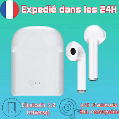 Écouteur Sans fil Bluetooth 5.0 Casque Mains Libres Samsung Sport audio Iphone