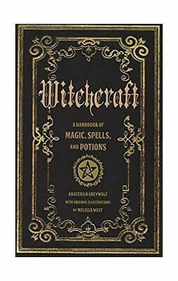 Witchcraft: A Handbook of Magic Spells and Potions (Mystical Handbook) English