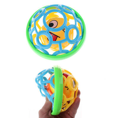 Baby Creative Hand Bell Ball  Toy Rattles Develop Intelligence Rattle TOY UKFEH