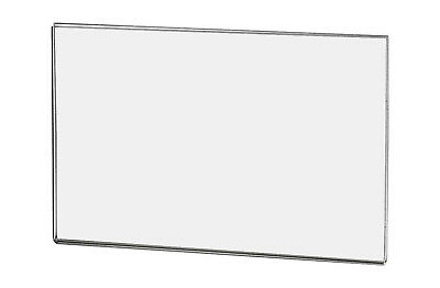 "Ad Frame Sign Holder 5 1/2""W x 3 1/2""H Wall Mount No Holes"