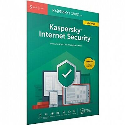 Kaspersky Internet Security 2019 Upgrade 3 Geräte 1 Jahr Code per Email