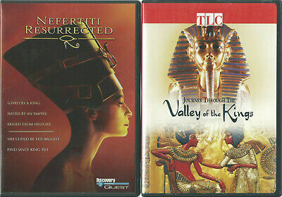 Egyptian History DVD Lot Journey Valley of the Kings & Nefertiti Resurrected